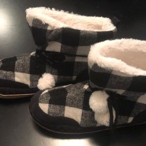 Buffalo Plaid Slippers